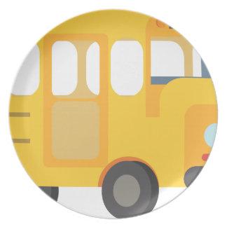 School Bus Plate
