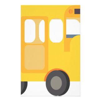 School Bus Stationery