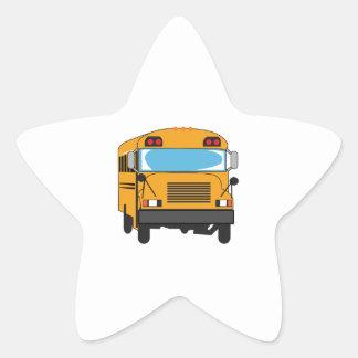 SCHOOL BUS STAR STICKERS