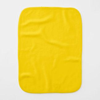 School Bus Yellow Burp Cloths