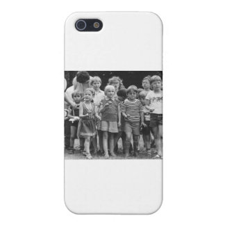 school children start egg and spoon race covers for iPhone 5