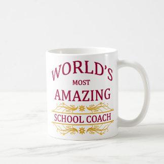 School Coach Basic White Mug