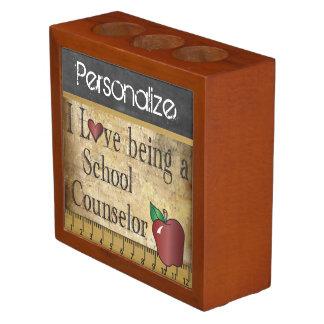 School Counselor Desk Organizer Pencil/Pen Holder