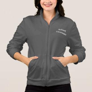School Counselor fleece zip up jacket