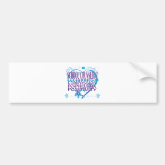 School Counselor Gifts Bumper Sticker