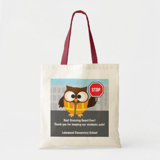 School Cross Guard Safety Patrol Thank You Tote Bag