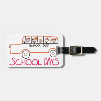 School Days Luggage Tag