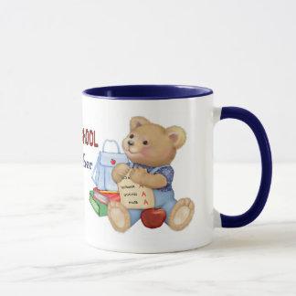 School Days Teddy - Preschool Teacher Mug