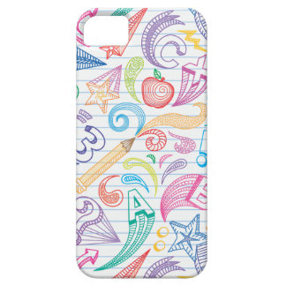 School Doodles Case For The iPhone 5