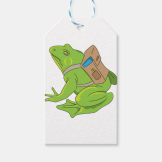 School Frog Gift Tags