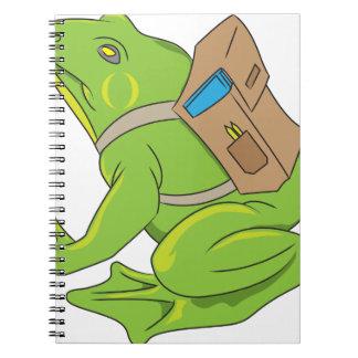 School Frog Notebooks
