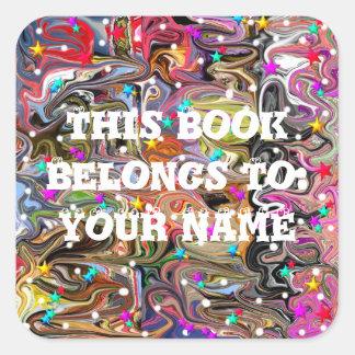 School Homeschool Personalized Book Stickers