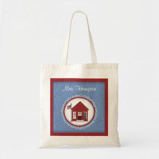School House Personalized Teacher's Bag