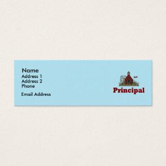 School House Principal Personal Cards
