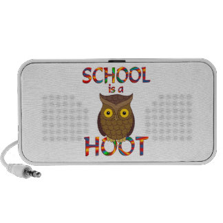 School is a Hoot Portable Speakers