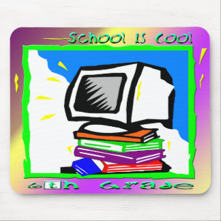 School is Cool 6th Grade - PC Mouse Pads