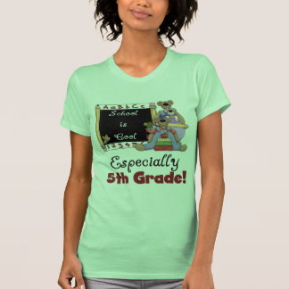School is Cool Especially 5th Grade T-Shirt