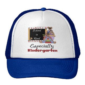 School is Cool Especially Kindergarten Cap
