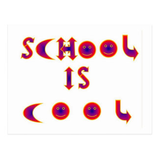 School is Cool items Postcard