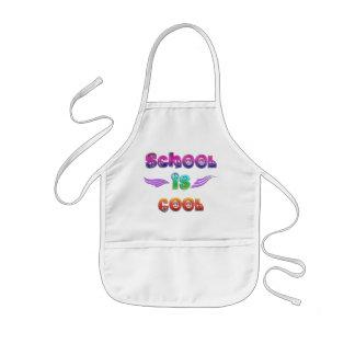 School is Cool - Peace Kids Apron