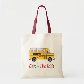 School is Cool School bus Tote Bag