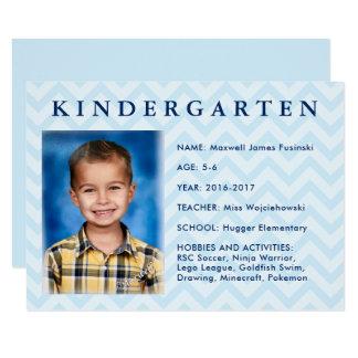School Keepsake Box   Folder Label Cards