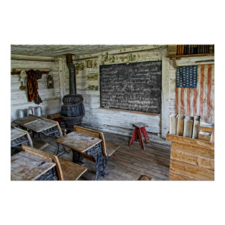 SCHOOL LESSON AUGUST 29, 1864 POSTER