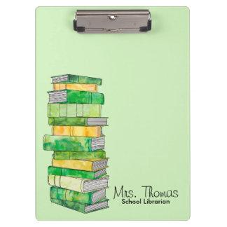 School Librarian Clipboard (Green)