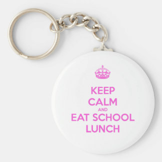 School Lunch Lady Loves Nutrition Key Ring