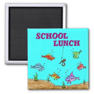 School, Lunch Magnet