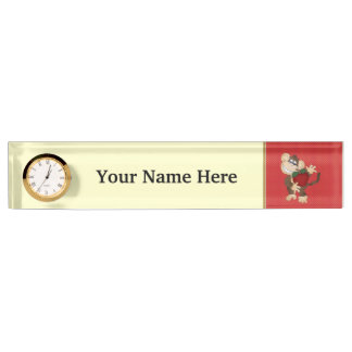 School Monkey Teacher name plate