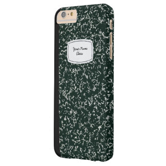 School Note Book  Name Barely There iPhone 6 Plus Case
