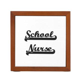 School Nurse Classic Job Design Desk Organiser