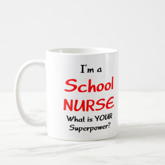School nurse coffee mug