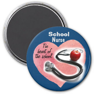 School Nurse Heart of the School Magnet