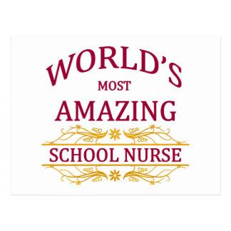 School Nurse Postcards
