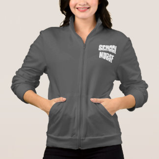 school nurse zip-up hoodie