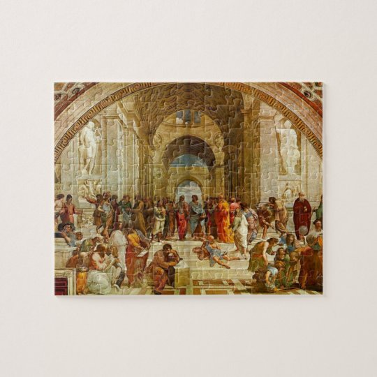 School of Athens by Raphael Jigsaw Puzzle