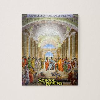 School of Athens Puzzle