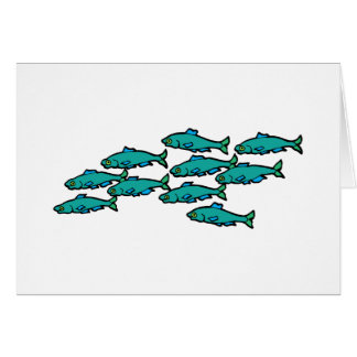 School Of Fish Cards