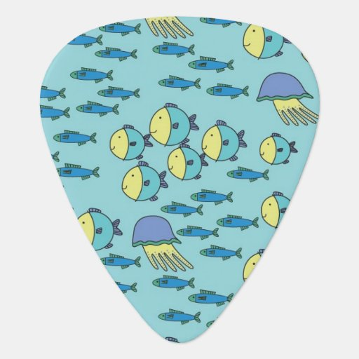 School of Fish Guitar Pick