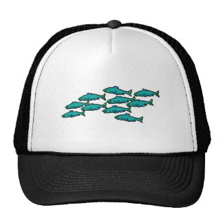 School Of Fish Mesh Hats