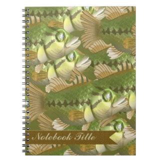 School Of Fish Journal Notebook