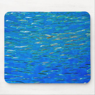 School of fish mouse pad