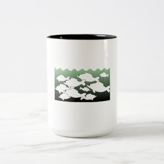 School Of Fish Mugs