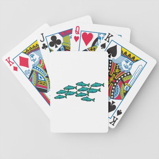 School Of Fish Bicycle Card Deck