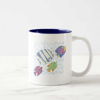 School of Fish T-shirts and Gifts Mugs