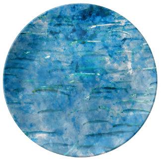 School of Fish Watercolor Plate