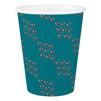 School of Happy Fish Paper Cup