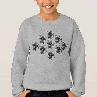 School of Happy Fish Sweatshirt